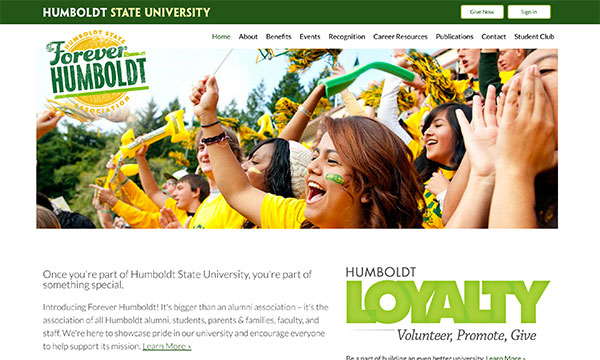 Forever Humboldt Website
