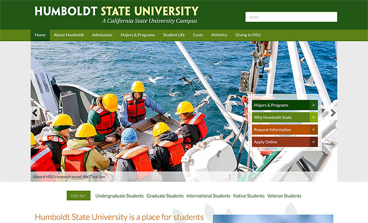 Humboldt State University Website